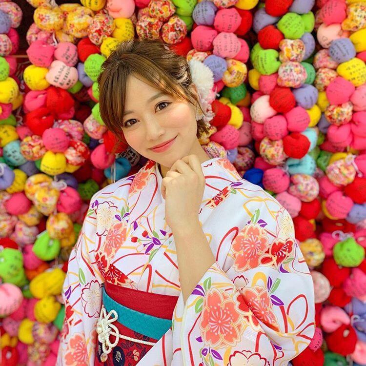 清水寺の着物(浴衣)レンタル 梨花和服