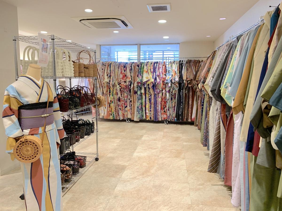 祇園の着物(浴衣)レンタル 梨花和服