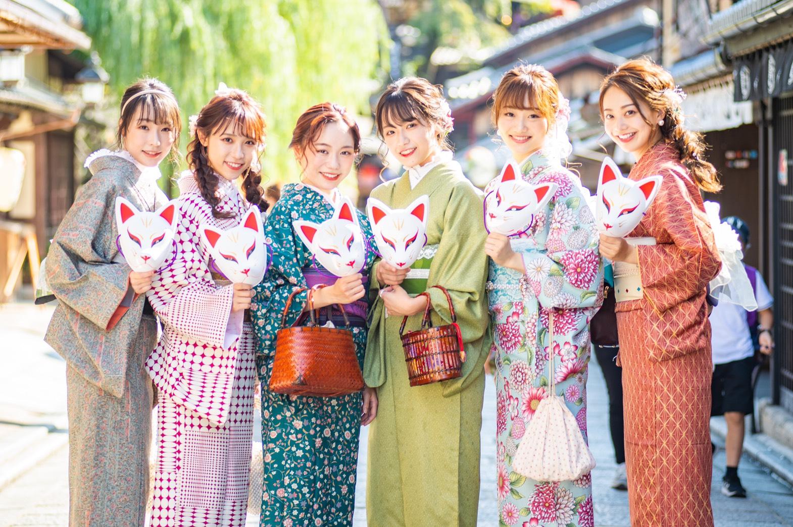 浅草の着物(浴衣)レンタル 梨花和服